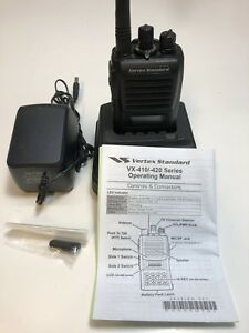 Vertex Standard Vx 424 Vhf Portable Radio 148 174mhz With Digital Record Option