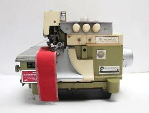 Rimoldi 527 Overlock Serger 3 thread italy Industrial Sewing Machine Head Only