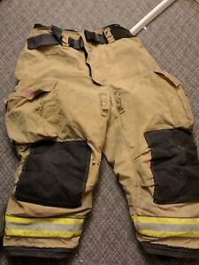 Globe Firefighter Turnout Pants Bunker Gear With Liner 42x26 Us Only