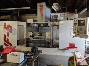 1996 Haas Vf 6 20 Atc 15 Hp 7500 Rpm Low Hours