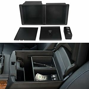 Vanjing Center Console Insert Organizer Tray For Select 2014 2018 Gm Vehicles