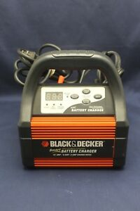 Vec1087cbd Smart Battery Charger Black Decker 10 6 2 Amp 12 Volt Lead Acid D1