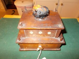 1800s Shaker Made Sewing Box With Thread Holders Drawer And Pincushion