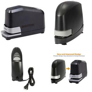 Bostitch Impulse 45 Sheet Electric Stapler Value Pack Double Heavy Duty No