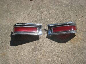 1961 1962 Buick Skylark Special Brake And Tail Lamp Assemblies Driver Quality