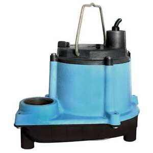 Little Giant 6 Series 1 3 Hp Integral Diaphragm Submersible Sump Pump open Box