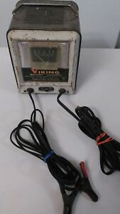 Vintage Original Vb612 Battery Charger 6 12 Volt Works Free Shipping