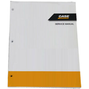Case 586h 588h Tier 4b Rough Terrain Forklift Service Repair Manual 47821916