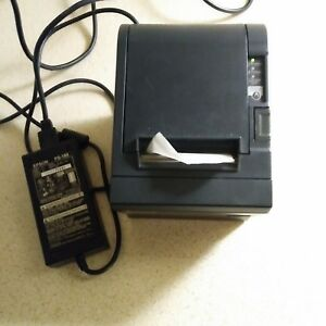 Star Micronics Tsp100 Futureprnt Point Of Sale Usb Thermal Printer Tested Works