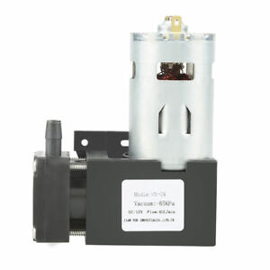 Small Vacuum Pump Parts Replacement Dc 12v 42w 11 9cm Oilless 85kpa For Dental