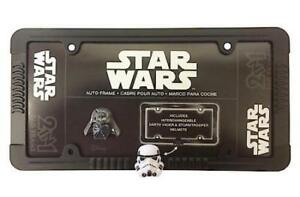 Star Wars 2 In 1 Black License Plate Frame