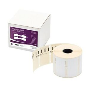 Dymo 30299 Jewellery Price Tag Labels Polypropylene Barbell Style 11351 3 8