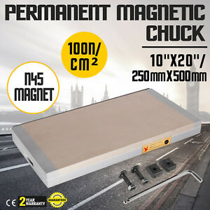 10 X 20 Fine Pole Magnetic Chuck High Precision Processing Industrial