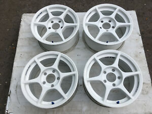 Jdm 15 Kosei Body Club P1 15 X 7j 5h 5x114 3 Honda Acura Te37 Wheels Rims