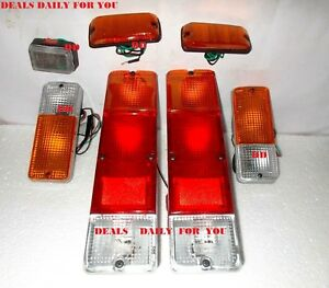 Suzuki Brake Tail Light Turn Side Marker Front Bumper Set Samurai 1986 95 Dd702