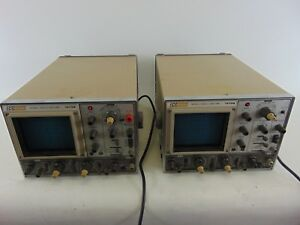 Bk Precision Dynascan Corporation Model 1479b 30 Mhz Oscilloscope