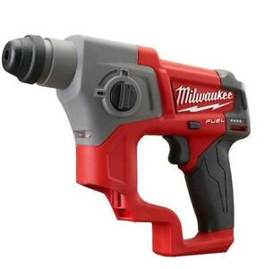 Milwaukee 2416 20 M12 Fuel 12 volt 5 8 Sds Plus Rotary Hammer Bare Tool