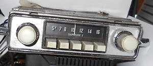 Vtg Sapphire I Vw Radio Upgraded W Fm And Aux Looks Works Gr8 Video 6 Volt