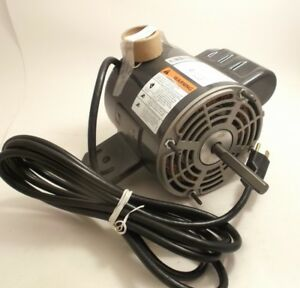 Emerson K55hxkah 9389 Electric Motor 115v 1 4hp 1100 Rpm 1 Phase 2 Sp