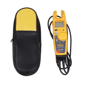Fluke T6 1000 Clamp Continuity Current Electrical Clamp Meter With Carring Case