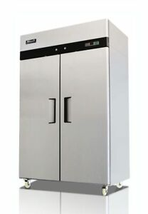 New Migali 2 Door Freezer Reach In Model C 2f hc