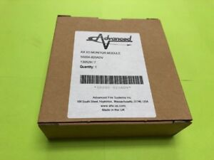 Advanced Fire Systems Ax I o Relay Output Switch Monitor Module
