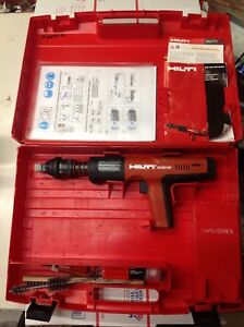 Hilti Dx351 Bt Powder Actuated Tool Very Good Condition used X 351 Bt 6375a
