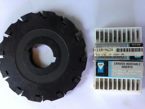 Apt Slot Master Adjustable Width Indexable Milling Cutter With Inserts 87 Degree
