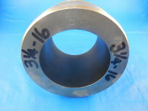 Shop Made 3 1 4 16 Thread Plug Gage 3 25 Quality Control Inspection Tooling