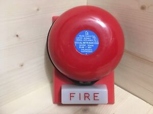 Wheelock 46t Strobe Plate And Hochiki Al mtr Fire Alarm Bell Combo