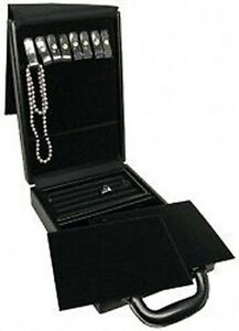 Travel Jewelry Attache Presentation Display Case