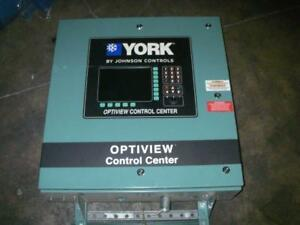 York Optiview Chiller Control Panel