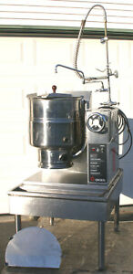 Groen Tdhc 40 40 Qt Gas Steam Jacket Crank Tilt Kettle W Stand