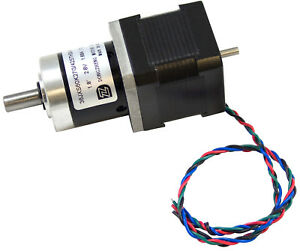 12v 1 7a 416 Oz in Geared Bipolar Stepper Motor