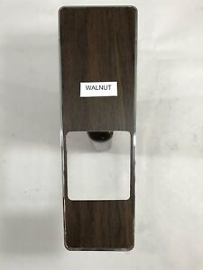 1969 Mustang Woodgrain Console Insert Walnut Classic Automotive Ltd