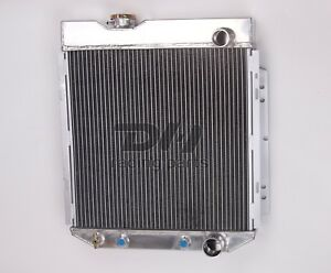 3 Rows Aluminum Radiator For 1963 1966 Ford Mustang falcon Mercury Comet V8 Eng