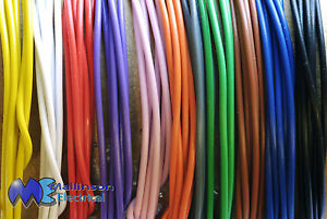 Solid Core Hookup Wire 1 0 6 Mm apx 22awg Breadboard Jumpers 11 Colours 1 100m
