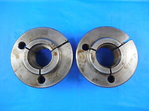 1 1 4 6 Na 2g Acme Thread Ring Gages 1 25 Go No Go Pds 1 1576