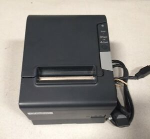 Epson Tm t88v Thermal Receipt Printer W Plus Power Usb Interface Cable Black