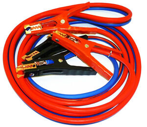 Heavy Duty 500 Amp 6 Gauge 12 Ft Jumper Cable Wire W Case 6pk On Time Delivery