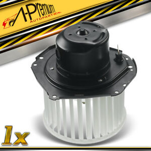 A Premium Blower Heater Motor W Wheel For Chevrolet Buick Cadillac Pm129 77 96