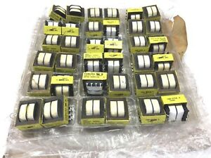 Lot Of 36 Qty Microtran Psd3 20 069808 Tamura Transformers 3fd 320 130b