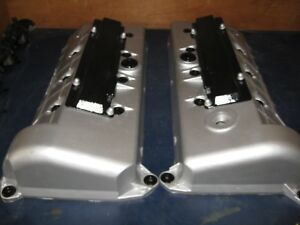 Valve Covers Pair 1996 98 Ford 4 6 Mustang Cobra F6ze 6582 6a505 aa
