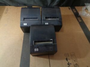 Lot Of 3 Hp 490564 003 Heat Thermal Printer Pos A799 c80w hn00