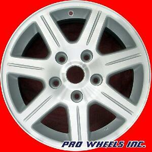 Chrysler Town Country 2008 2009 2010 16 Machined Silver Oem Wheel Rim 2330 A