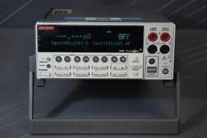 Keithley Instruments 2400 Digital Source Meter 20w calibrated