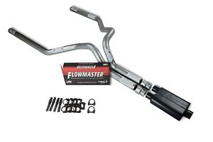 Chevy Gmc 1500 Truck 99 06 3 Dual Truck Exhaust Kits Flowmaster 40 Series