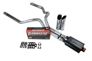 Dodge Ram 1500 Truck 09 18 3 Dual Exhaust Kits Flowmaster Super 40 Slash Tip