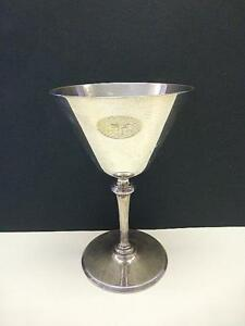 1926 Tiffany Co Sterling Silver Footed Wine Martini Glass Goblet 4 5 8 Fsg