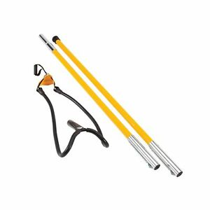 Notch Set1027d Big Shot Throw Line Launcher Standard Kit Black yellow